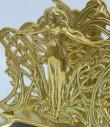 画像2: イタリア製 輸入雑貨 真鍮 ブラス ナプキンホルダー レタースタンド ナプキン立て テーブル アールヌーボー アンティーク風 スティーラ C3-338 リビングスタジオ 直輸入 (2)