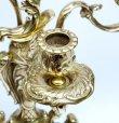 画像4: イタリア製 輸入雑貨 真鍮 ブラス キャンドルスタンド 5灯 燭台 置物 オブジェ クラシカル クリスマス スティーラ 姫系 sti-1097-5 送料無料 直輸入 リビングスタジオ (4)