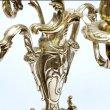 画像5: イタリア製 輸入雑貨 真鍮 ブラス キャンドルスタンド 5灯 燭台 置物 オブジェ クラシカル クリスマス スティーラ 姫系 sti-1097-5 送料無料 直輸入 リビングスタジオ (5)