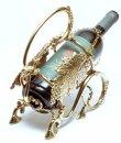 画像2: イタリア製 輸入雑貨 真鍮 ブラス ボトルホルダー ワイン ブドウ 葡萄 デキャンタージュ 姫系 sti-1197 送料無料 直輸入 リビングスタジオ (2)