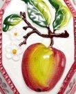 画像3: イタリア製 輸入雑貨 壁飾り リンゴ アップル フルーツ 陶器 壁掛け 八角形 風水 ハンドメイド バッサーノ リビングスタジオ 直輸入 BRE-195L-AP (3)