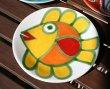 画像1: イタリア製 輸入雑貨 シチリア 陶器 絵皿 壁飾り 壁掛け 手描き 魚 白地 イエロー デシモーネ デシモネ desimone ハンドペイント 537ST (1)