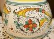 画像5: イタリア製 輸入雑貨 花瓶 フラワーベース 陶器 マヨルカ焼き デルータ Deruta ドラゴン H19.5cm Sberna 794-20 リビングスタジオ 直輸入 送料無料 (5)