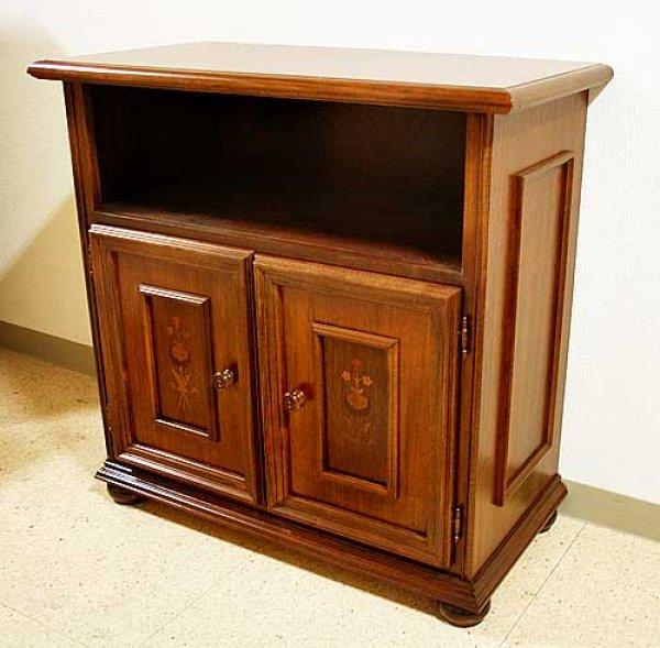 画像1: イタリア製 輸入家具 サイドボード テレビ台 象嵌 クラシック 収納 Mobilhouse モービルハウス 120i 送料無料 (1)