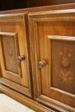 画像9: イタリア製 輸入家具 サイドボード テレビ台 象嵌 クラシック 収納 Mobilhouse モービルハウス 120i 送料無料 (9)