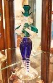画像8: イタリア製 輸入雑貨 ベネチアングラス ペア人形 ダンサー グリーン ブルー ムラノガラス ヴェネチアン リビングスタジオ 直輸入 送料無料 (8)