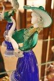 画像6: イタリア製 輸入雑貨 ベネチアングラス ペア人形 ダンサー グリーン ブルー ムラノガラス ヴェネチアン リビングスタジオ 直輸入 送料無料 (6)