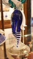 画像11: イタリア製 輸入雑貨 ベネチアングラス ペア人形 ダンサー グリーン ブルー ムラノガラス ヴェネチアン リビングスタジオ 直輸入 送料無料 (11)