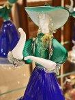 画像5: イタリア製 輸入雑貨 ベネチアングラス ペア人形 ダンサー グリーン ブルー ムラノガラス ヴェネチアン リビングスタジオ 直輸入 送料無料 (5)