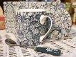 画像2: 輸入雑貨 マグカップ ギフトセット コースター ティースプーン ポーセリン クリエイティブトップス Creative Tops サンフラワー Sunflower ブルー C000494 (2)