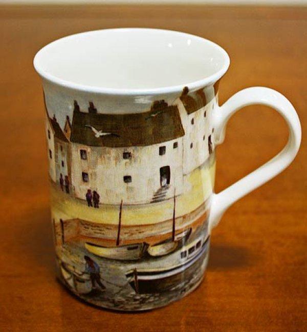 画像1: 輸入雑貨 趣きある漁村風のマグカップ クリエイティブトップス Creative Tops Cornish Harbour イギリス 英国【メーカー直送:代引・同梱・送料無料対象外】 (1)