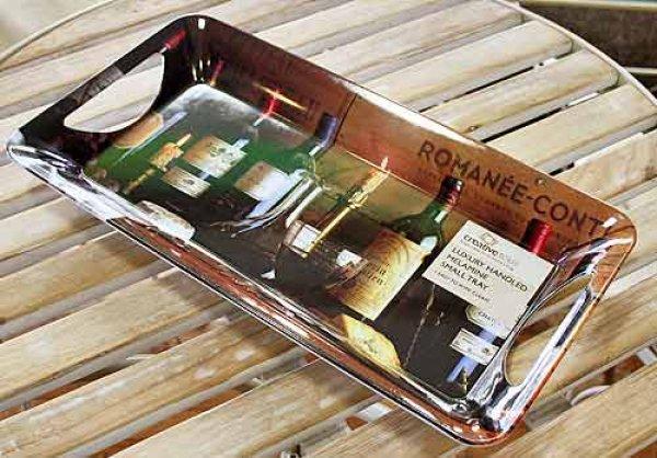 画像1: 輸入雑貨 ロマネコンティ 名ワイン柄のサンドイッチトレー Creative Tops Vintage Wine イギリス 英国【メーカー直送:代引・同梱・送料無料対象外】 (1)