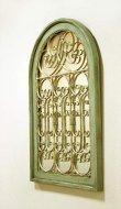 画像2: 輸入家具 シャルル ミラーパネル Covent Garden BG-47 ミラー 壁掛け アーチ窓 アンティーク風 (2)