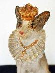 画像4: 輸入雑貨 クラウン キャット Covent Garden コベントガーデン BK-25 猫 ネコ オブジェ 置物 フレンチ シャビーシック アンティーク風 (4)