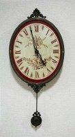 画像1: 輸入雑貨 バロック ムジカクロック Covent Garden コベントガーデン BR-17 振り子時計 掛時計 (1)