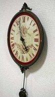 画像2: 輸入雑貨 バロック ムジカクロック Covent Garden コベントガーデン BR-17 振り子時計 掛時計 (2)