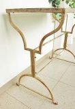 画像5: 輸入家具 パティオ タイルテーブル Covent Garden コベントガーデン EI-32 アイアン サイドテーブル 花台 アンティーク風 シャビーシック ガーデン カフェ 送料無料 (5)