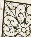 画像6: 輸入雑貨 アイアン スクエアパネルL Covent Garden コベントガーデン GZ-41 ロートアイアン 壁掛け 壁飾り アンティーク風 シャビーシック リビングスタジオ (6)