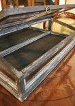 画像6: 輸入家具 ノアール ガラスショーケース コベントガーデン Covent Garden IX-48 コレクションケース 小物入れ 収納 ディスプレイ ウッド ナチュラル アンティーク風 シャビーシック レトロ (6)