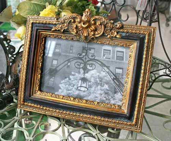 画像1: 輸入雑貨 アルマンド フォトフレーム KB-22 Covent Garden コベントガーデン 木彫風 フォトフレーム 写真立て (1)