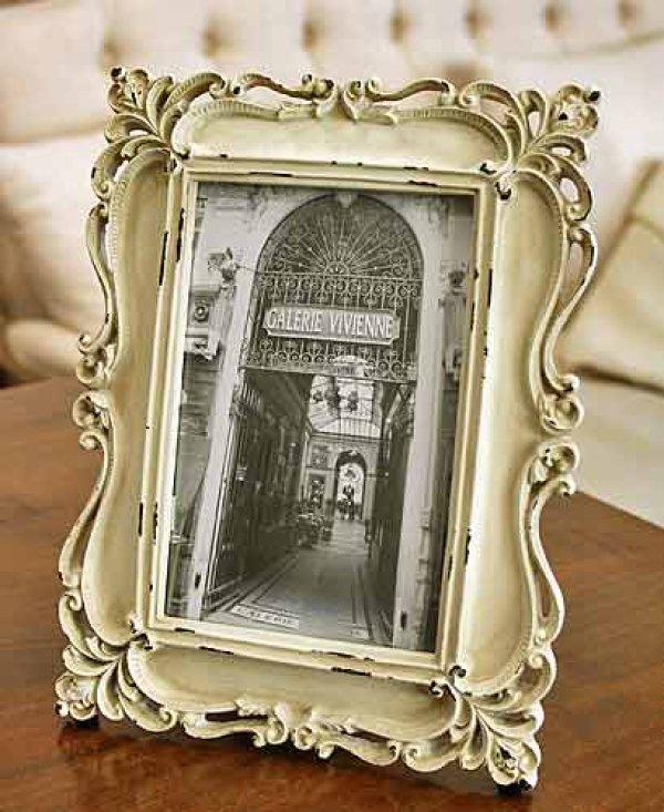 画像1: 輸入雑貨 コリンズ フォトフレーム Covent Garden コベントガーデン KB-95 アールヌーボー アンティーク風 スタンド 壁掛 (1)