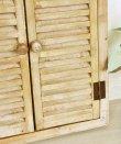 画像6: 輸入雑貨 ゴルド ルーバーミラー ブラウン アーチ Covent Garden コベントガー デン KK-24 鏡 壁掛 木製 アンティーク風 シャビーシック (6)