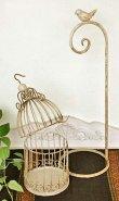 画像3: 輸入雑貨 ブラン・テーブルスタンド Covent Garden コベントガーデン LW-36 レトロ 鳥かご ケージ アレンジベース 置物 オブジェ  (3)