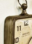 画像3: 輸入雑貨 アンダーパス ハングクロック Covent Garden コベントガーデン NY-05 壁掛け 掛時計 モダン クラシック インダストリアル (3)
