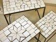 画像3: 輸入家具 パラゴシック ローテーブル3個セット Covent Garden コベントガーデン WM-03 アイアン モザイク 花台 ネストテーブル サイドテーブル アンティーク風 シャビーシック ガーデニング (3)