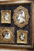 画像3: 輸入雑貨 ファミリーフォトフレーム 6P 写真入れ 壁掛け 壁飾り ウォールデコレーション クラシック ゴージャス エレガント 1383005 送料無料 (3)