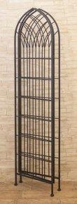 画像3: 輸入家具 スクリーン アイアン ブラック パーテーション つい立 シャビーシック アンティーク風 フレンチ DH19309BK リビングスタジオ (3)
