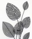 画像3: 輸入雑貨 壁飾り ウォールデコレーション アイアン リーフ 観葉植物 シャビーシック アンティーク風 エレガント 姫系 ナチュラル 1808TSF004 (3)