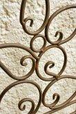 画像5: 輸入家具 アイアン ウッド ドア ブルー vil 6985 シャビーシック アンティーク風 ブロカンテ フレンチ 壁飾り 壁掛け ウォールデコレーション オブジェ パネル  (5)
