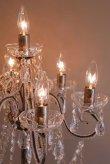 画像4: 輸入家具 照明 フロアスタンド フロアライト フロアランプ シャンデリア ゴールド イタリアン ゴ ージャス エレガント 姫系 アンティーク風 67D3051483 クリスティ LED (4)