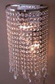 画像5: 輸入雑貨 ブラケット ウォールランプ シャンデリア 壁面照明 クリスタル アイアン モダン クラシック エレガント 姫系 LED対応 LEXI-W2D (5)