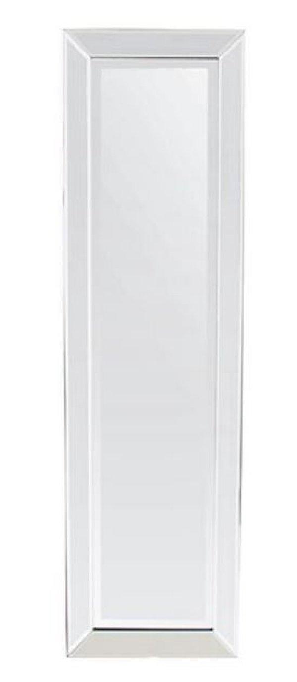 画像1: 輸入家具 ミラー 姿見 モダン コンテンポラリー アーバン シルバー ミラーフレーム 姫系 40X130 XR-3560-120 直輸入 リビングスタジオ (1)