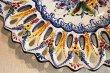 画像5: ポルトガル製 輸入雑貨 絵皿 飾りプレート アルコバサ ハンドメイド クラシック 伝統柄 40cm REB-474 送料無料 直輸入 リビングスタジオ (5)
