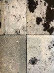 画像3: 輸入家具 スツール リアルファー ブラック ホワイト シルバー コンパクト スチール 毛皮 ウシ モダン 玄関 サロン AS-7010-E リビングスタジオ (3)