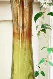 画像5: 輸入雑貨 Grande フルートベース LL 花瓶 ガラス アンバー グリーン 手吹き H98cm シャビーシック アンティーク風 レトロ CGD-51 送料無料 (5)